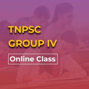 TNPSC Gr 4 online Class